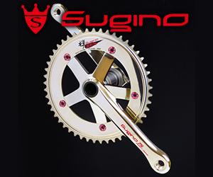 ALPINA2 TRIPLE (48×36×26T) (Sugino/スギノ)(自転車用クランクセット)